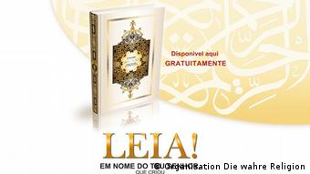 Material da versão brasileira da campanha Leia!