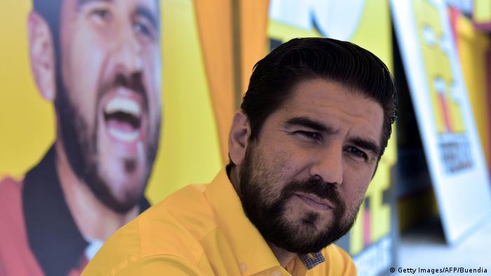 Dalo Bucaram Ecuador 'Fuerza Ecuador' Partei (Getty Images/AFP/Buendia)