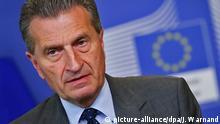 Günther Oettinger EU-Kommissar für Energie