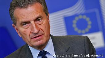 «Τα επόμενα 10 χρόνια δεν θα συσταθεί ευρωπαϊκός στρατός. Αλλά θα αποκτήσουμε ευρωπαϊκή αμυντική στρατηγική» προβλέπει ο επίτροπος Γκύντερ Έτινγκερ