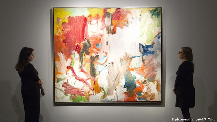 Untitled XXV Willem de Kooning Christie's Auktion (picture-alliance/AA/R. Tang)