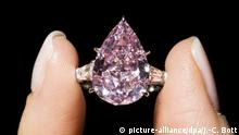 Juwelenauktion bei Christie's - Rosafarbener Diamant The Pink