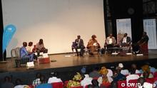 Mali Bamako - Debatte zu Migration (DW/D. Köpp)