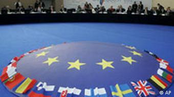 General view of the informal meeting of the ministers in charge of economy and finance ECOFIN,