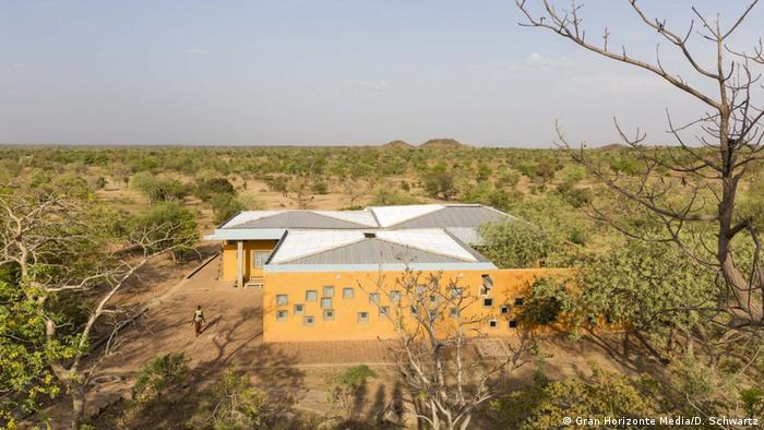 Clinic at the opera village designed by Francis Kéré in Burkina Faso (Gran Horizonte Media/D. Schwartz)