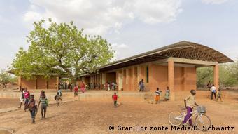 Francis Kéré's school in Burkina Faso