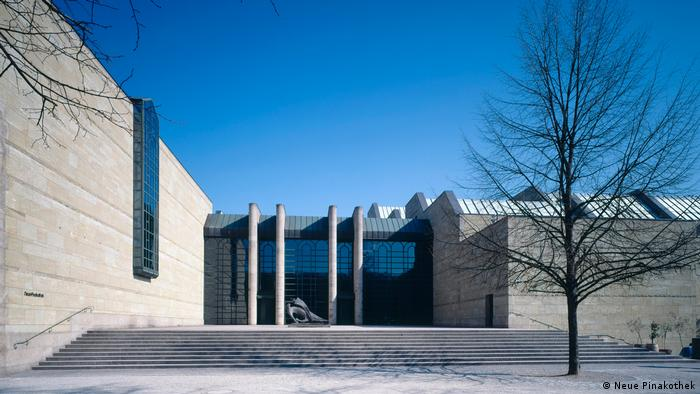 Pinakothek der Moderne in Munich (Neue Pinakothek)