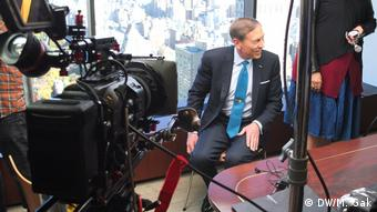 USA New York - David Petraeus (DW/M. Gak)