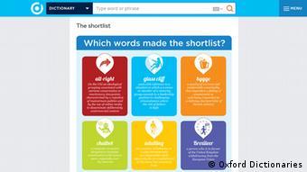 Screenshot Oxford Dictionaries haben das Wort «post-truth» (postfaktisch) zum internationalen Wort des Jahres 2016 gewählt (postfaktisch) zum internationalen Wort des Jahres 2016