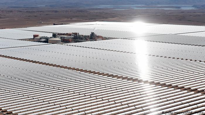 Morocco's Ouarzazate solar power facility (Getty Images/AFP/F. Senna)