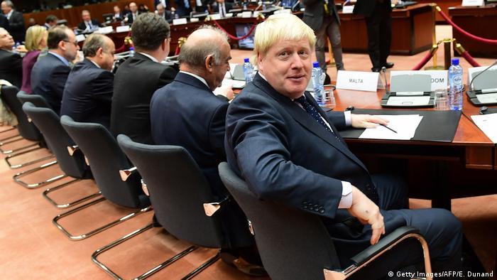 Brüssel Britischer Außenminister Boris Johnson (Getty Images/AFP/E. Dunand)