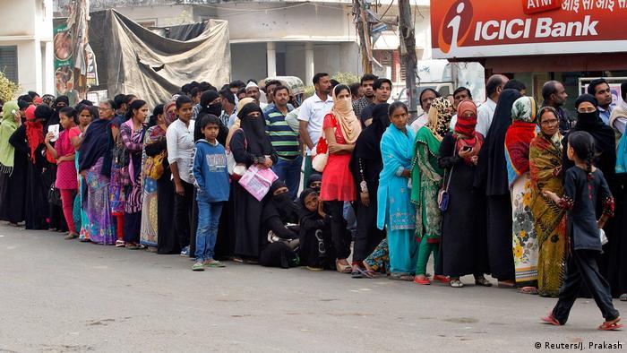 Indien Bargeldreform (Reuters/J. Prakash)