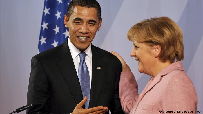Deutschland - NATO Gipfel mit Barack Obama und Angela Merkel