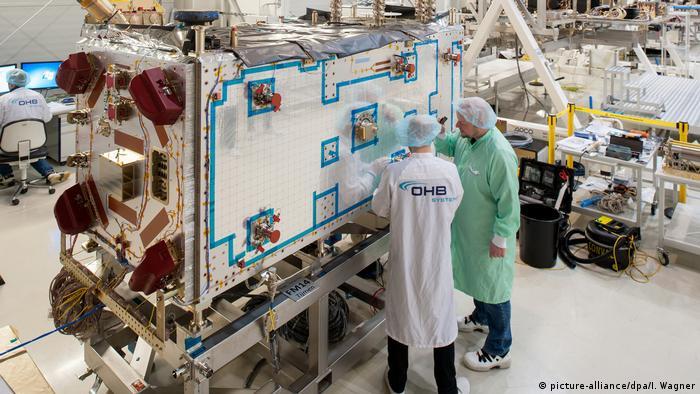 Deutschland Galileo-Fertigung bei OHB
