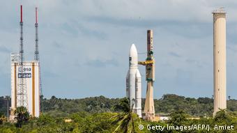 Тяжелые ракеты Ariane 5 Европейское космическоен агентство ESA запускает с космодрома Куру