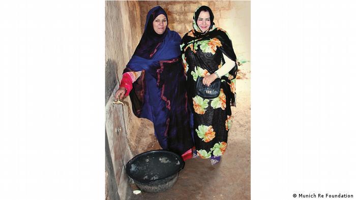Umweltprojekt-Trinkwasser aus Nebel in Marokko (Munich Re Foundation)
