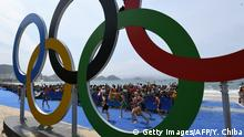 Brasilien Rio de Janeiro Olympia 2016 Triathlon Schwimmen