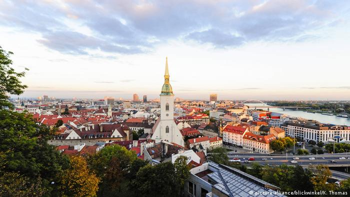 Slowakei Martinsdom in Bratislava (picture-alliance/blickwinkel/K. Thomas)
