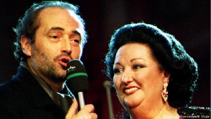 Jose Carreras and Montserrat Caballe (picture-alliance/dpa/W. Kluge)