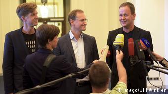 Deutschland Sondierung Koalition Berlin September 2016 - Steffen Wesner