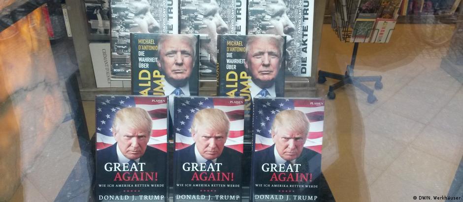 Στα βιβλία του ο Τραμπ αποκαλύπτει τα σχέδιά του