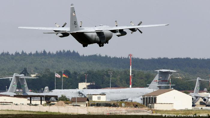 Deustchland US-Airbase Ramstein (picture-alliance/dpa/R. Wittek)