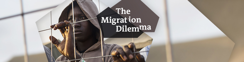 DW The Migration Dilemma Themen-Header Englisch