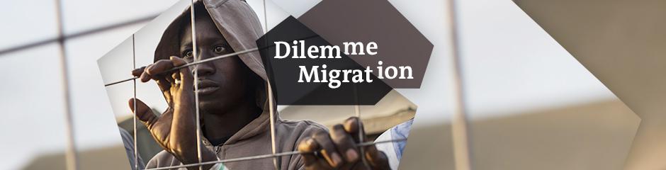 DW The Migration Dilemma Themen-Header Französisch