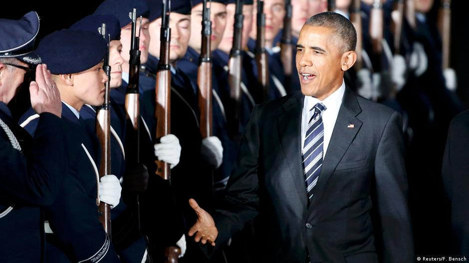 Barack Obama: Goodbye Berlin