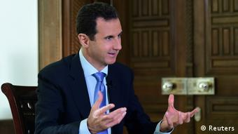 Syiren Präsident Bashar al-Assad Interview (Reuters)