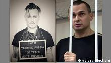 "Voice Project ""Imprisoned for Art"" Kampagne Johnny Depp Oleh Senzow"
