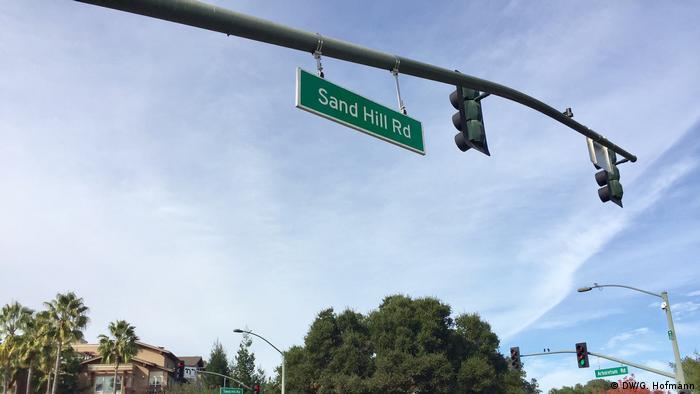Palo Alto Sand Hill Road Kalifornien Palo Alto (DW/G. Hofmann)