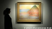 New York Christie's Auktion Claude Monet's Meule
