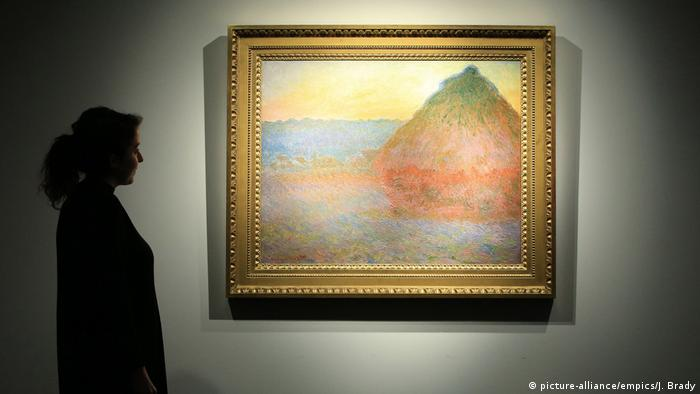 New York Christie's Auktion Claude Monet's Meule (picture-alliance/empics/J. Brady)