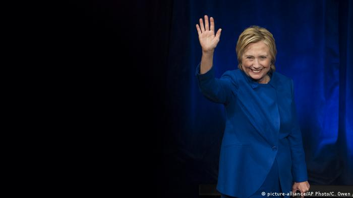 USA Hillary Clinton (picture-alliance/AP Photo/C. Owen)