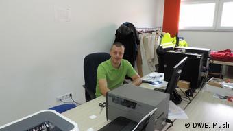Rentex – Industrie Bekleidung aus Bosnien und Herzegowina (DW/E. Musli)