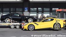 Schweiz Autos von Teodorin Obiang Nguema konfisziert