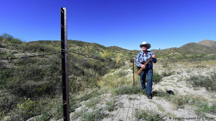 Огорожа на кордоні Мексики зі США (Getty Images/AFP/F.J. Brown)