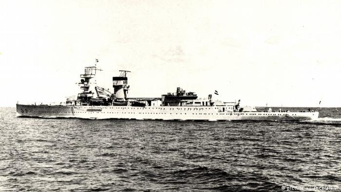 Niederlande Kriegsschiff De Ruyter Koninklijke Marine (picture-alliance/arkivi)