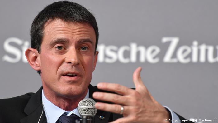 Deutschland Manuel Valls Wirtschaftsgipfel der Süddeutschen Zeitung (Getty Images/AFP/J. MacDougall)