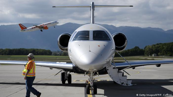 Embraer Legacy 450 jet (Getty ImagesAFP/F. Coffrini)