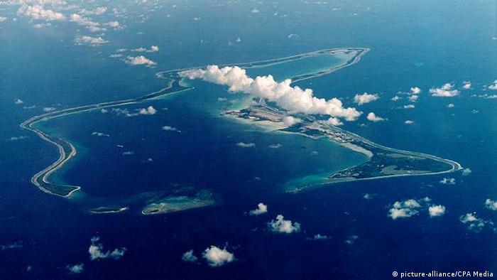 Großbritannien Chagos Inseln oder British Indian Ocean Territory