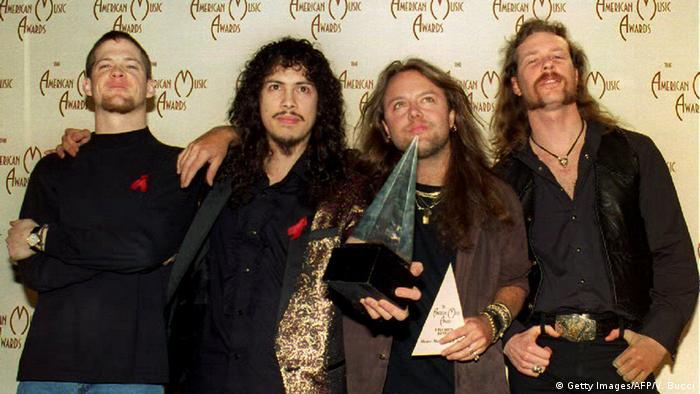 Metallica in 1993 (Getty Images/AFP/V. Bucci)