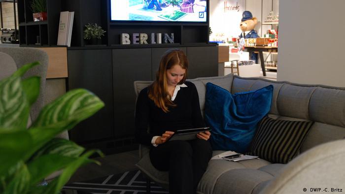 El Deutsche Bank cambiará los fríos ambientes de oficina por uno que más parezca la sala de estar en casa.