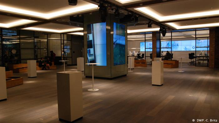 Deutsche Bank's 'bank of the future' (DW/P.-C. Britz)