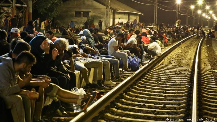 Sid Kroatien Tovarnik Serbien Grenze Flüchtlinge Asylpolitik Asyl Zagreb Bahnhof