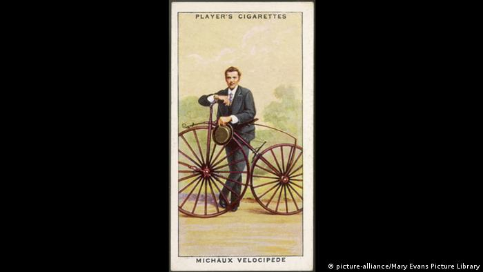 200 Jahre Fahrrad Pierre Michaux (picture-alliance/Mary Evans Picture Library)