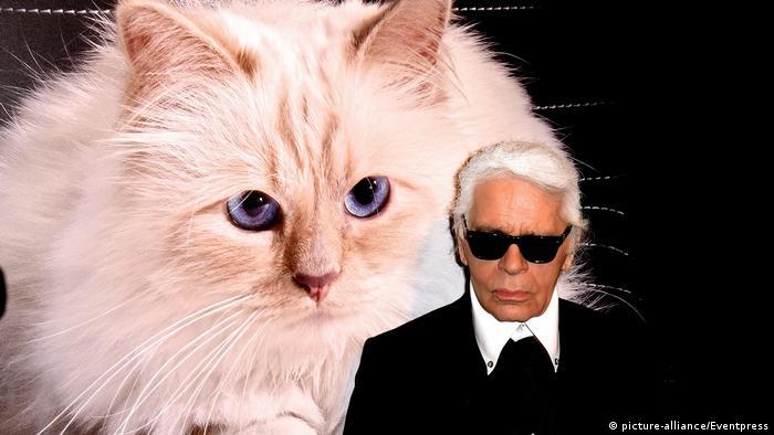 Karl Lagerfeld dan kucingnya Choupette
