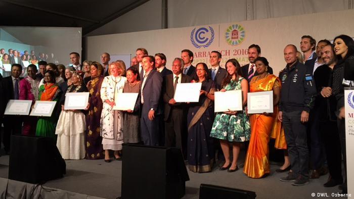 Marokko COP22 Konferenz in Marrakesh