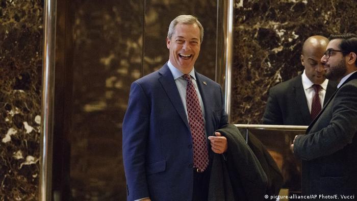 UKIP MP Nigel Farage